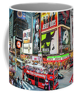 Times Square II Special Edition Coffee Mug