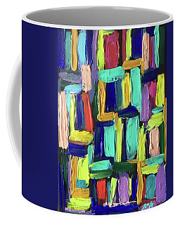 Times Square Nighttime Coffee Mug by Brenda Pressnall