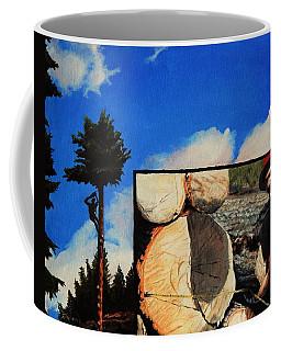 Tim's Lumber Coffee Mug by Ruanna Sion Shadd a'Dann'l Yoder