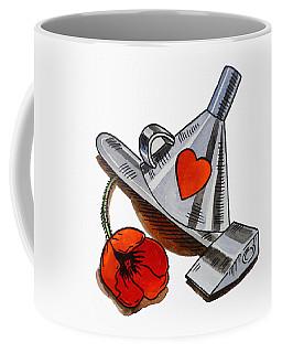 Tin Man Hat The Wizard Of Oz Coffee Mug