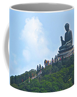 Tin Tan Buddha In Hong Kong Coffee Mug