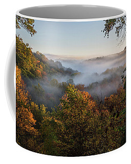 Coffee Mug featuring the photograph Tinkers Creek Gorge Overlook by Dale Kincaid