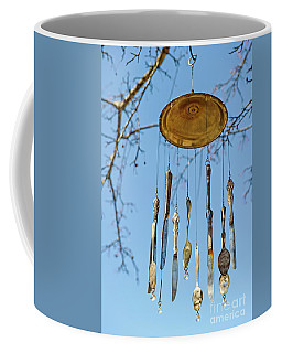 Coffee Mug featuring the photograph Tintinnabulation.. by Nina Stavlund