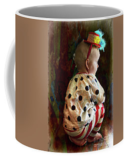 Tiny Clown Coffee Mug