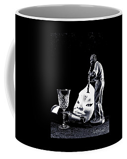 Coffee Mug featuring the photograph Tiny Desk Concert by Elf Evans