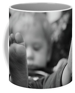 Coffee Mug featuring the photograph Tiny Feet by Robert Meanor