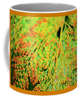 Coffee Mug featuring the photograph Tiny Flowers Blooming  by D Davila
