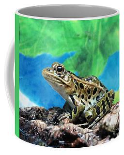 Tiny Frog Coffee Mug