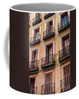Tiny Iron Balconies Coffee Mug