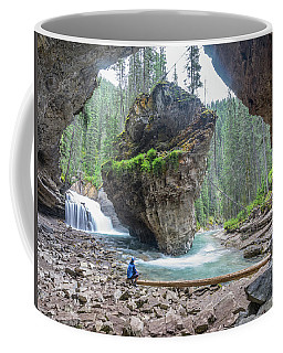 Tiny People Big World Coffee Mug