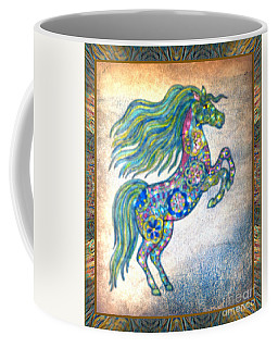 Tiny Prancer Coffee Mug by Wbk
