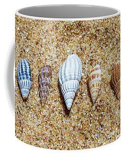 Tiny Seashells On The Sand Coffee Mug