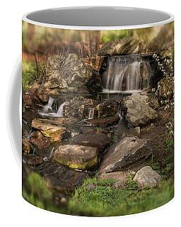 Coffee Mug featuring the photograph Tiny Stream by Angie Tirado
