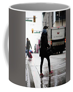 Coffee Mug featuring the photograph Tiny Umbrella  by Empty Wall