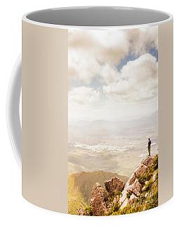 Tip Of Mt Zeehan Tasmania  Coffee Mug
