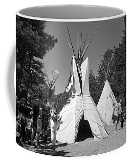 Tipis In Black Hills Coffee Mug