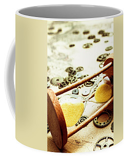 Tipping The Time Map Coffee Mug