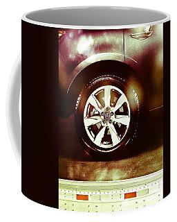Tire Under The Moonlight Color Coffee Mug