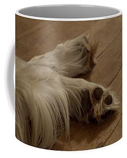 Tired Dogs Coffee Mug by Aliceann Carlton