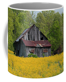 Tired Indiana Barn - D010095 Coffee Mug