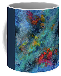 Title. Galactic Adagio Acrylic Painting. Coffee Mug