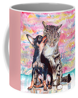 Tito And The Fonz Coffee Mug