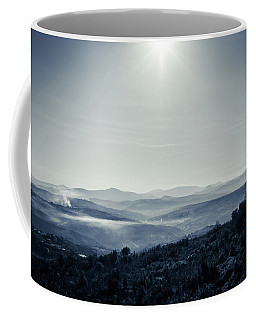 To A Peaceful Valley Coffee Mug by Andrea Mazzocchetti