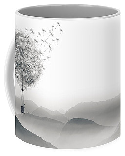 To Fly Only For A Moment Coffee Mug