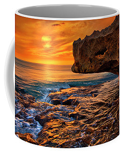 To God Be The Glory - Sunrise Over Ocean Reef Park On Singer Island Florida Coffee Mug