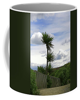 Coffee Mug featuring the photograph To Kouka Cabbage Tree by Nareeta Martin