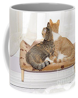 Coffee Mug featuring the photograph  Sisters by Carol Wisniewski