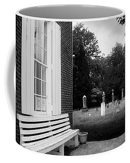 To Rest And At Rest In Black And White Coffee Mug