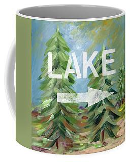 To The Lake - Art By Linda Woods Coffee Mug