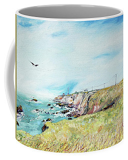 To The Lighthouse  Tribute To Virginia Woolf Coffee Mug