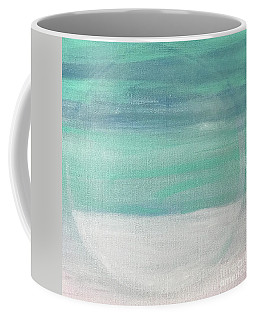 Coffee Mug featuring the painting To The Moon by Kim Nelson