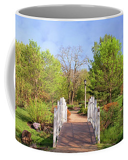 Coffee Mug featuring the photograph To The Other Side Of Spring by Angie Tirado