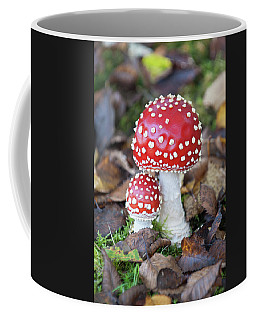 Toadstools In The Woods Vi Coffee Mug