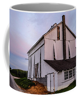 Tobacco Barn At Dusk Coffee Mug