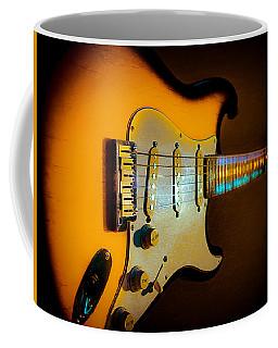 Tobacco Burst Stratocaster Glow Neck Series Coffee Mug