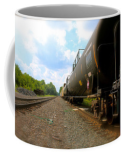 Tobyhanna Freight Train Coffee Mug