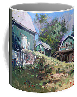 Today Morning At Carter Farms In Norval Coffee Mug