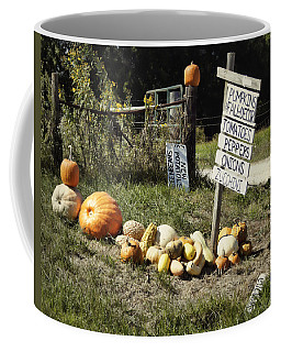 Coffee Mug featuring the photograph Today's Harvest by Cricket Hackmann