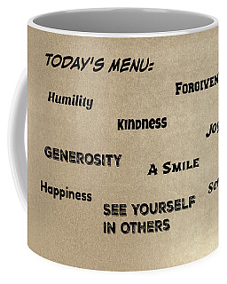 Today's Menu #1 Coffee Mug