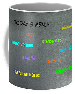 Today's Menu #2 Coffee Mug