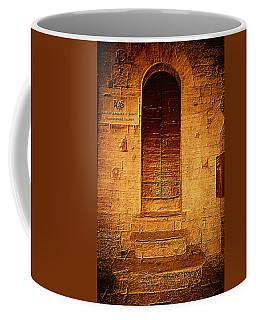 Todi Italy Medieval Door  Coffee Mug