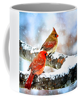 Together In The Snow Coffee Mug