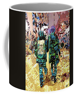 Coffee Mug featuring the painting Together by Tony Rubino