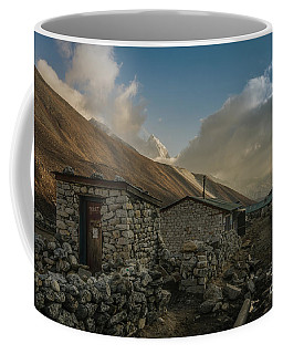 Coffee Mug featuring the photograph Toilet by Mike Reid