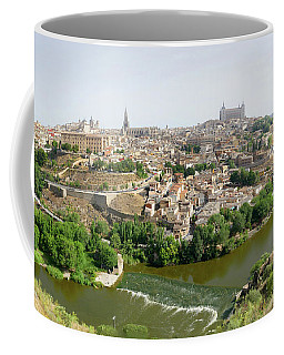 Toledo, Spain Panoramic View Coffee Mug