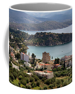 Coffee Mug featuring the photograph Tolo Greece.  by Shirley Mitchell